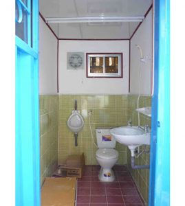 Container toilet 10feet, container vệ sinh lưu động